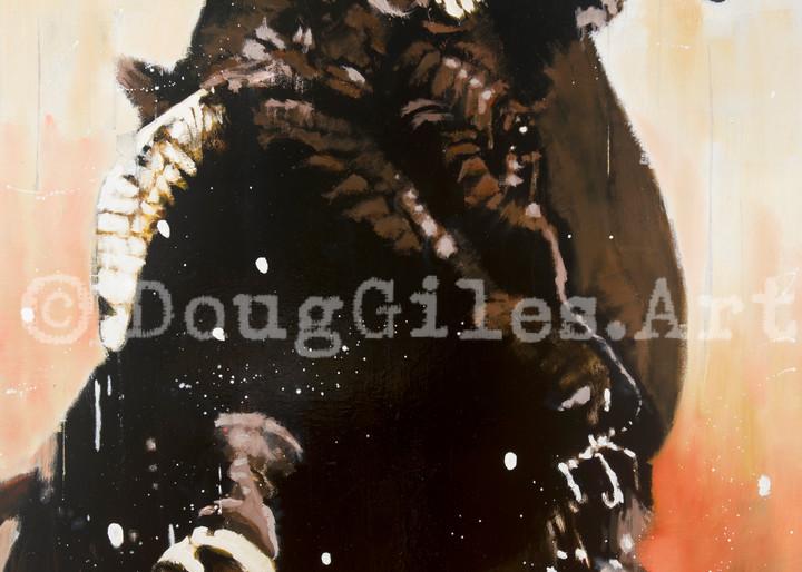 Like A Wild Bull Art | Doug Giles Art, LLC