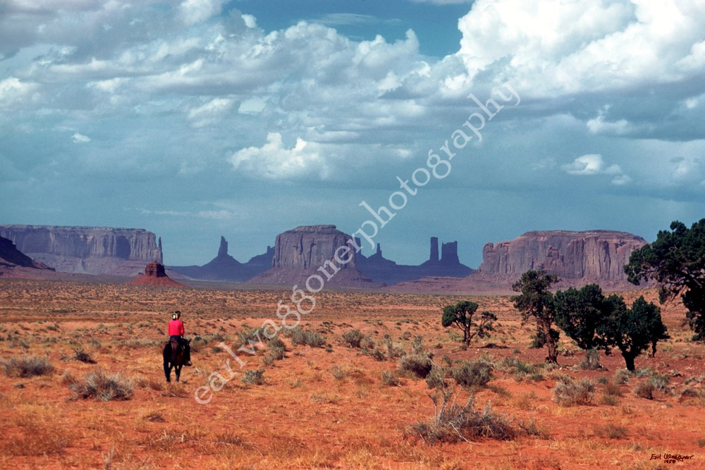 Horseman in Distance (UCB017)