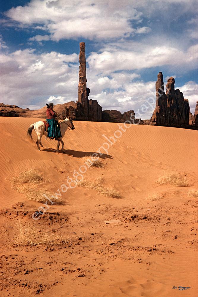 Happy Cly on Horseback