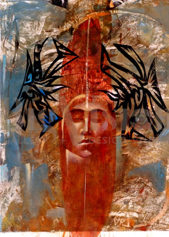 Forest Opens Raven Wings Prints Art   Big Vision Art + Design