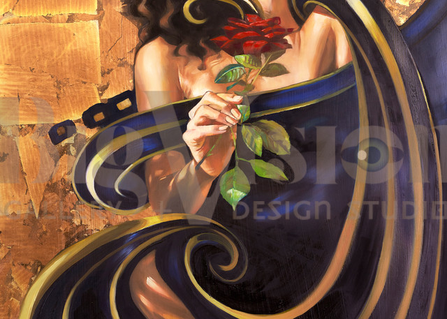 She Rose Prints Art | Big Vision Art + Design