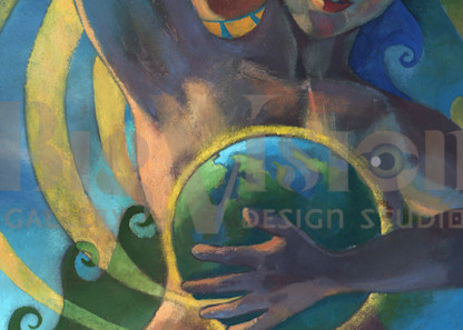 Creation Myth 1 Prints Art | Big Vision Art + Design