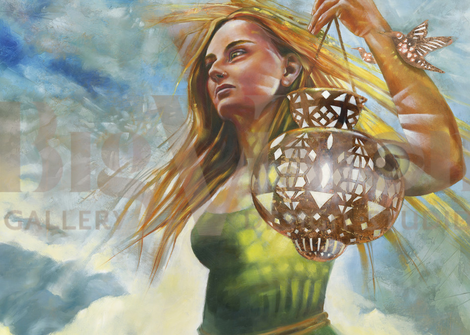 Justice And Her Band Of Light Prints Art | Big Vision Art + Design