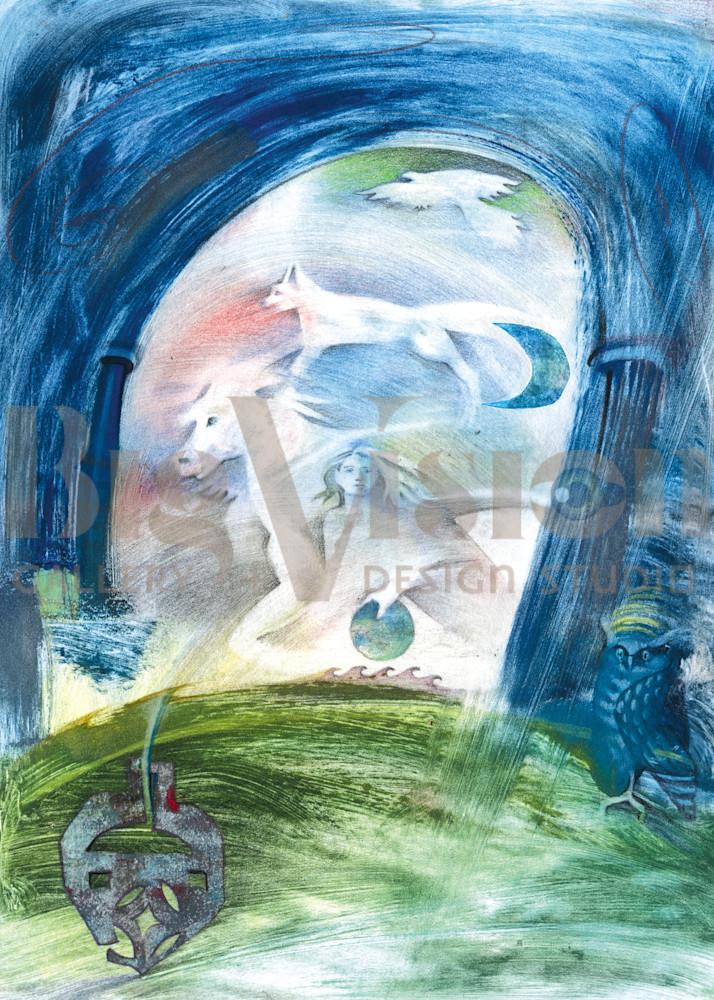 Moontales Prints Art   Big Vision Art + Design