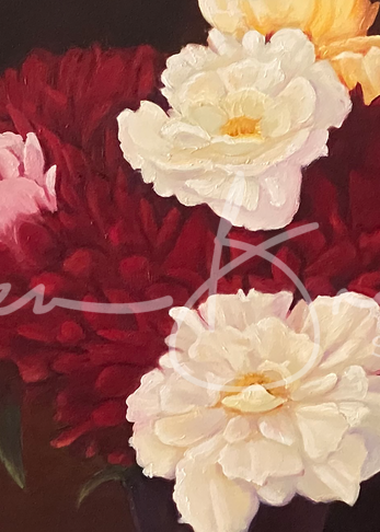 Peony Passion Art | Colleen Brown Studio