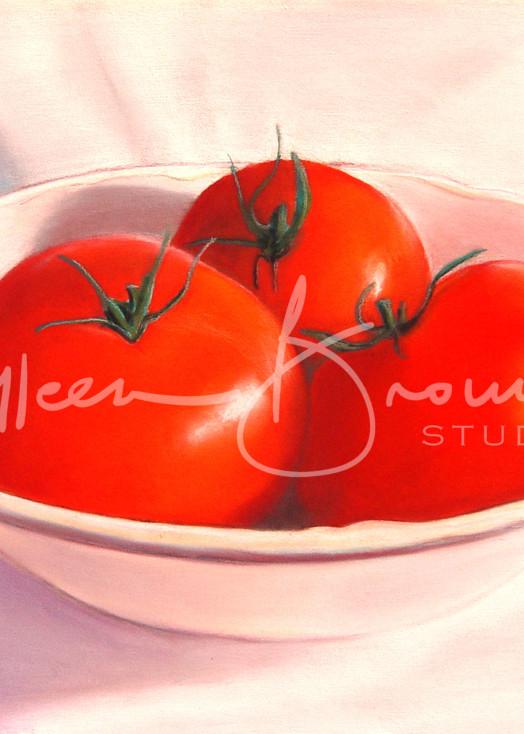 Summer Tomatoes Art   Colleen Brown Studio