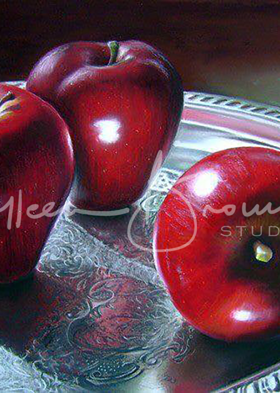 How About Those Apples - Still life by Colleen Brown