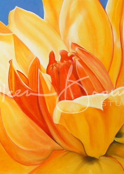 Saffron Splendour Art | Colleen Brown Studio