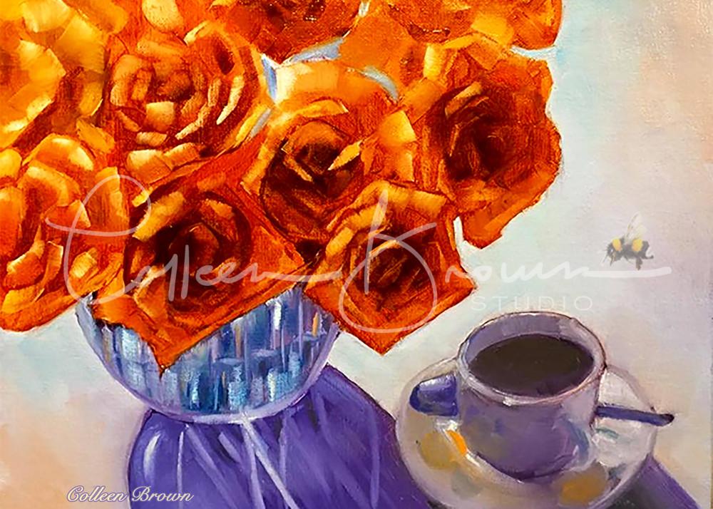Tea & Roses Art | Colleen Brown Studio