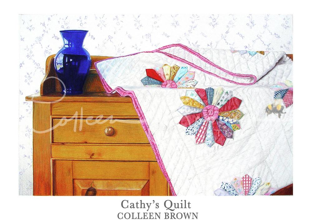 Cathy's Quilt Art   Colleen Brown Studio