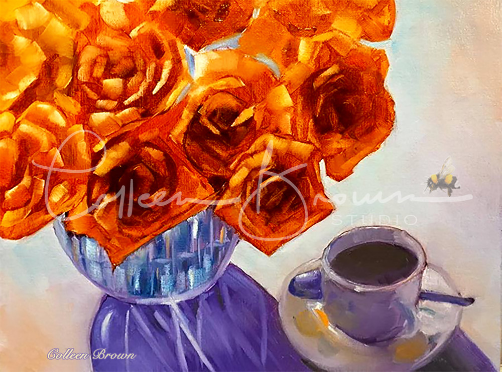Tea & Roses Art | Colleen Brown Studio