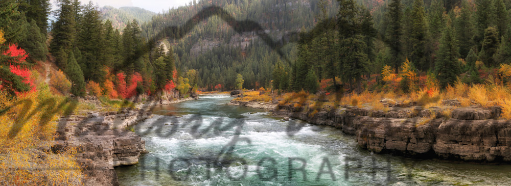 Snake River Canyon, Fall, Alpine, WY