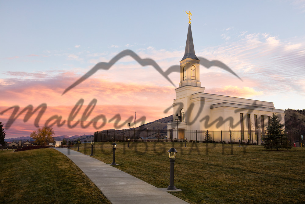 Last Fall Day, Star Valley LDS Temple