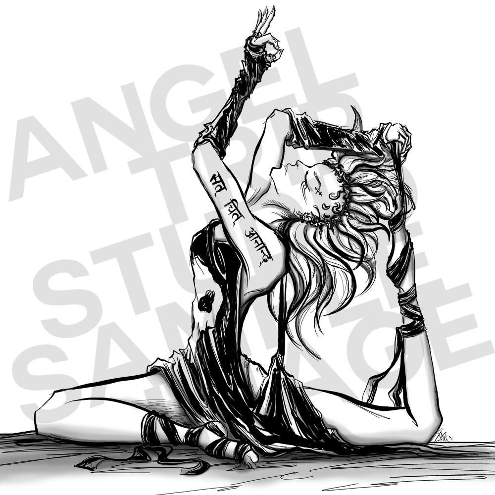 Swan Art | Angel Trip Studio