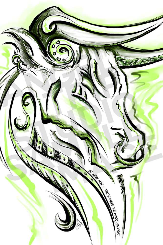 Taurus (April 20th   May 20th) Art | Angel Trip Studio