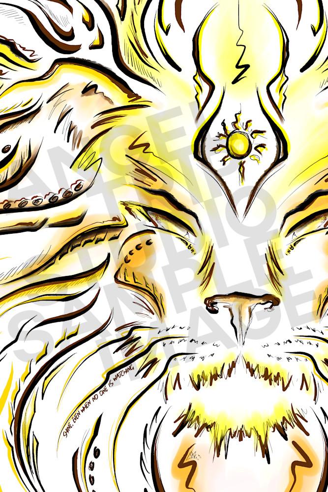 Leo (July 22nd   August 22nd) Art | Angel Trip Studio