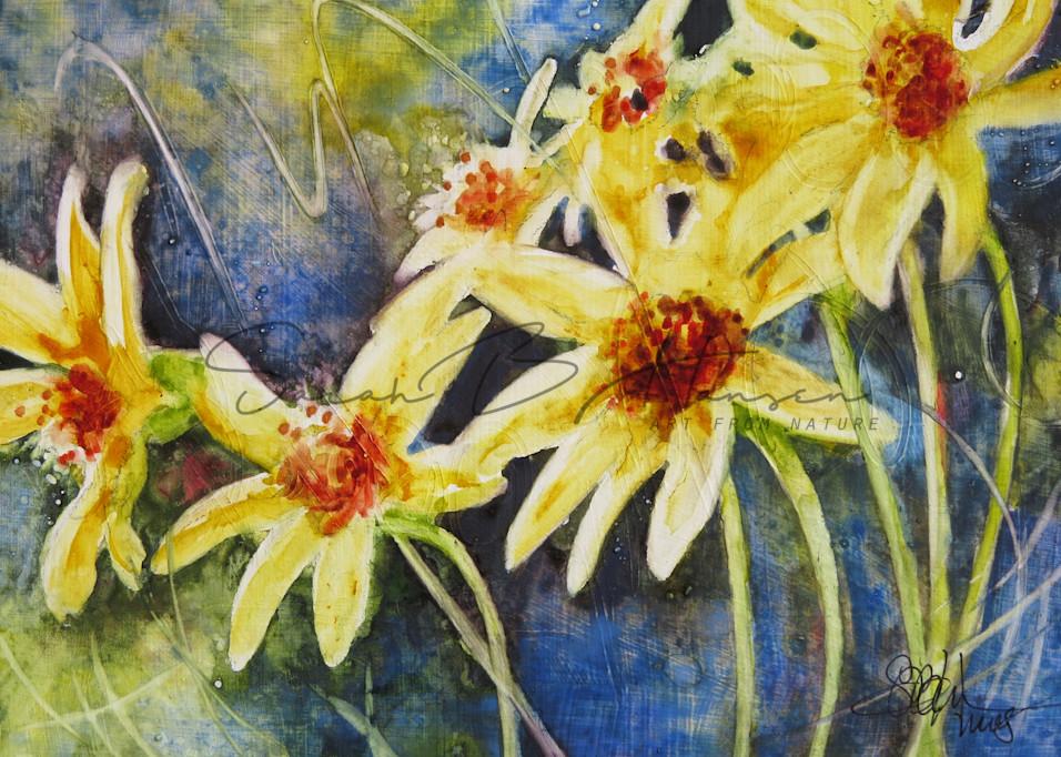 Sunnyside Up A Fine Art Painting by Pacific Northwest Artist Sarah B Hansen