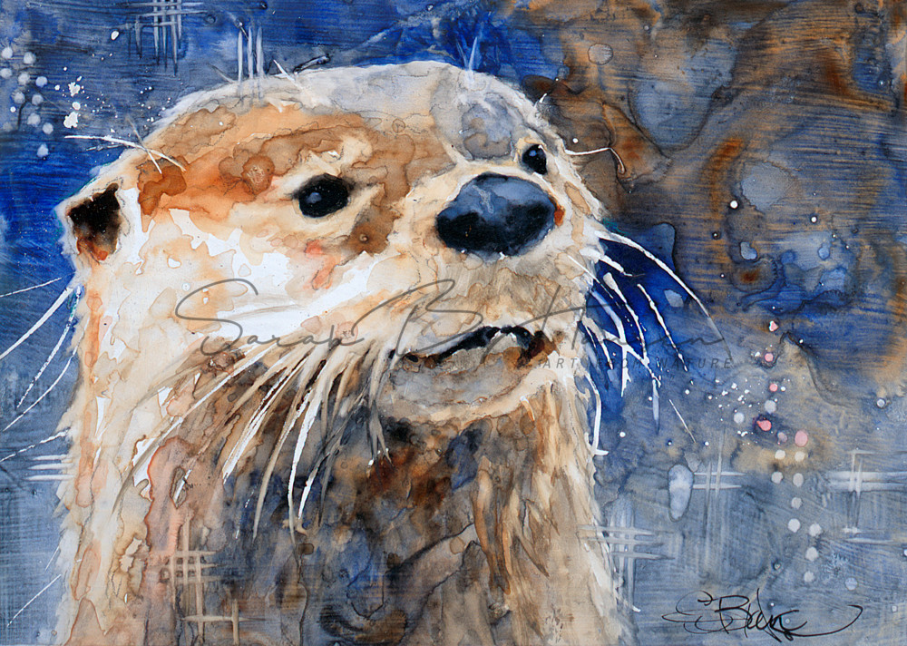 Just Curious A Fine Art Painting by Pacific Northwest Artist Sarah B Hansen