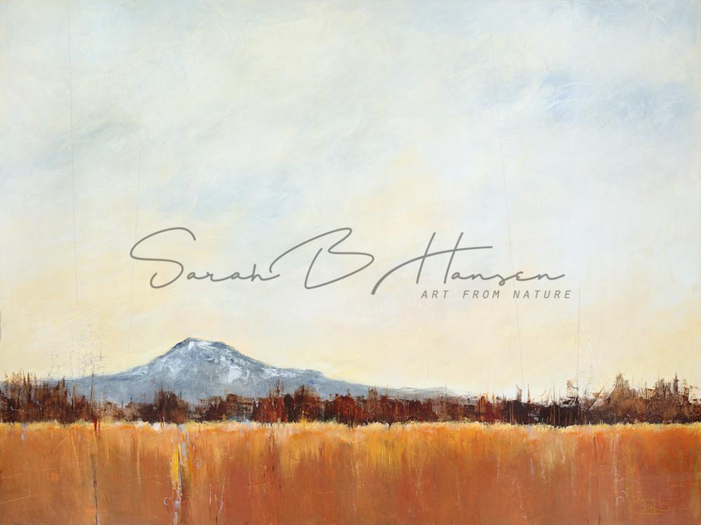 Sarah B Hansen Art - Breathe - Original and Fine art print