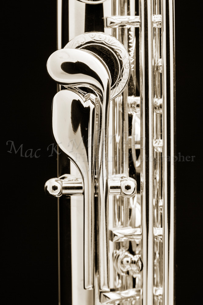 Flute instrument Thumb Keys Canvas Prints 3450.01