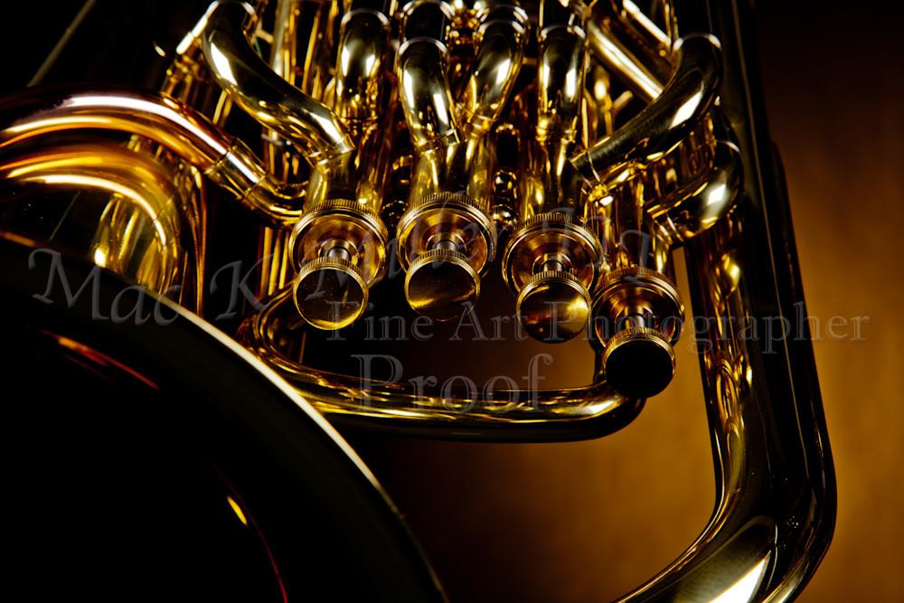 Tuba Brass Music Instrument Canvas Prints 3392.02