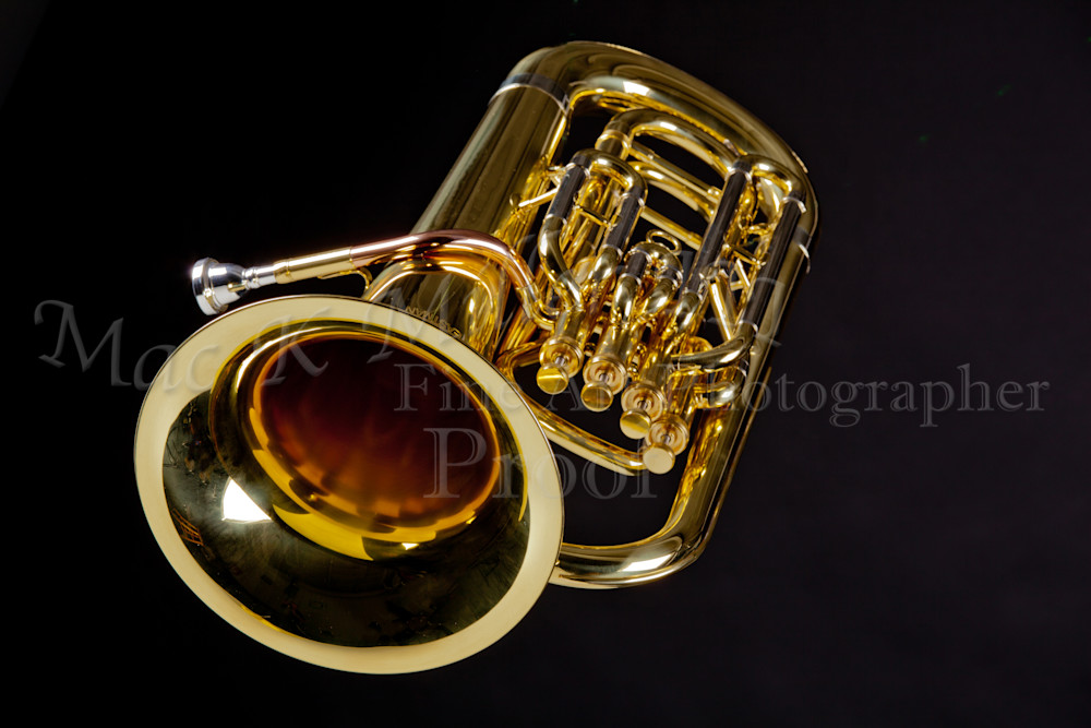 Wall Art Tuba Music Instrument 3396.02