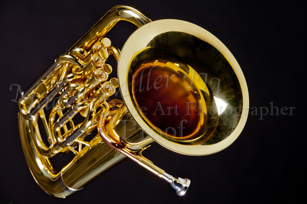 Music Instrument Tuba Bell 3281.02