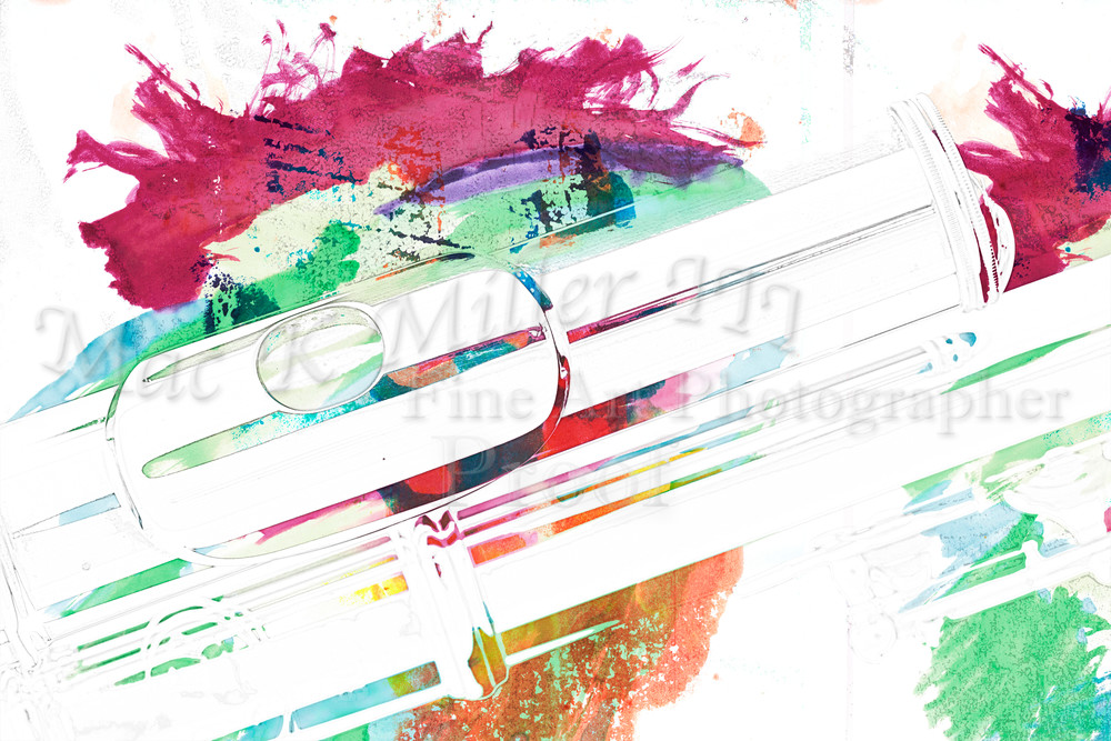 a7e61178d Flute With A Splash of Color Painting 8001.309