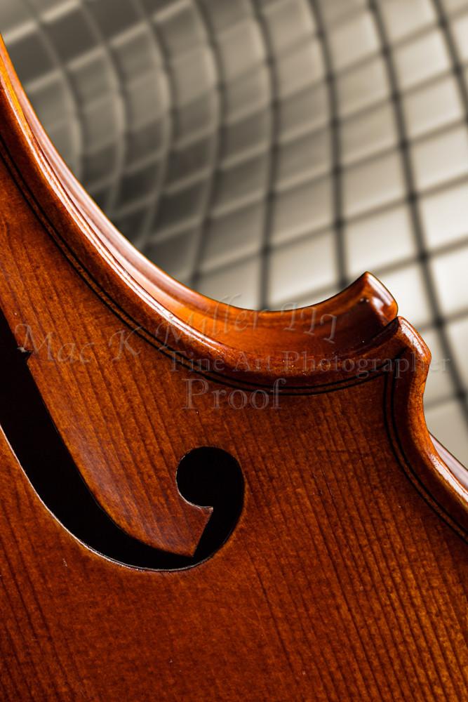 Tile Violin Image Wall Art 1007
