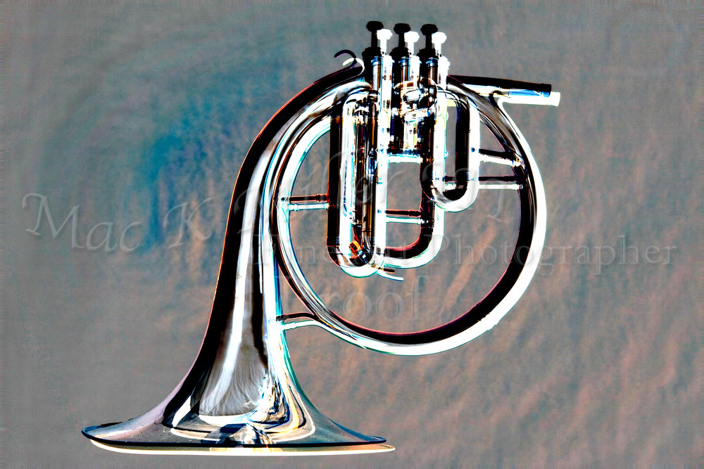 Classic French Horn Embossed 2082 27