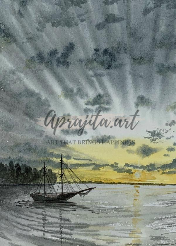 """""""Solitude"""" Art Print by Aprajita Lal"""