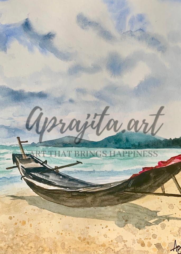 """""""Waiting"""" Art Print by Aprajita Lal"""