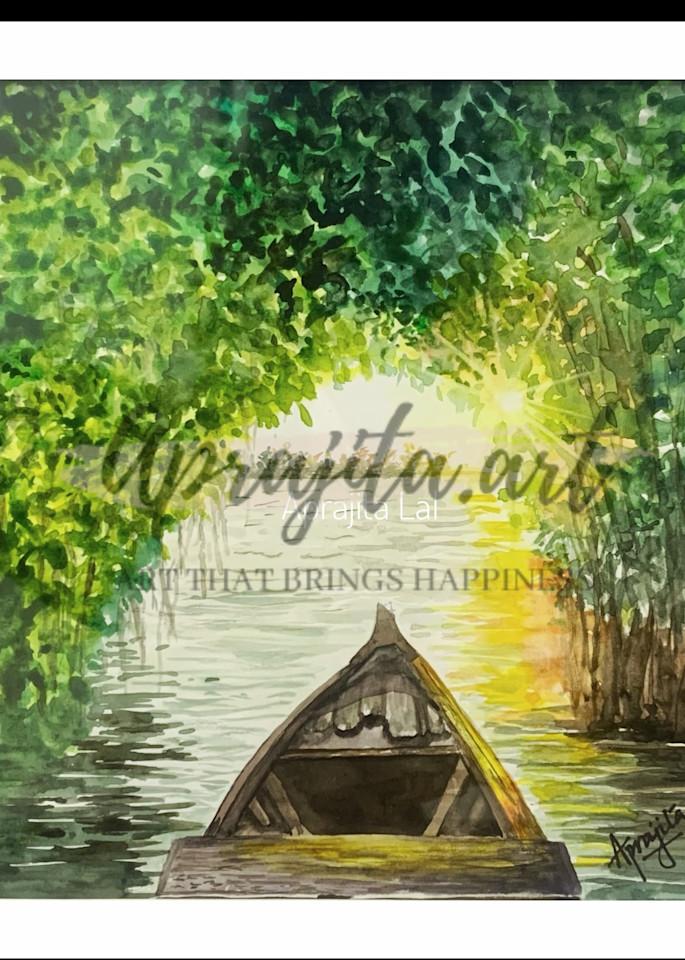 """""""Wanderer"""" Art Print by Aprajita Lal"""