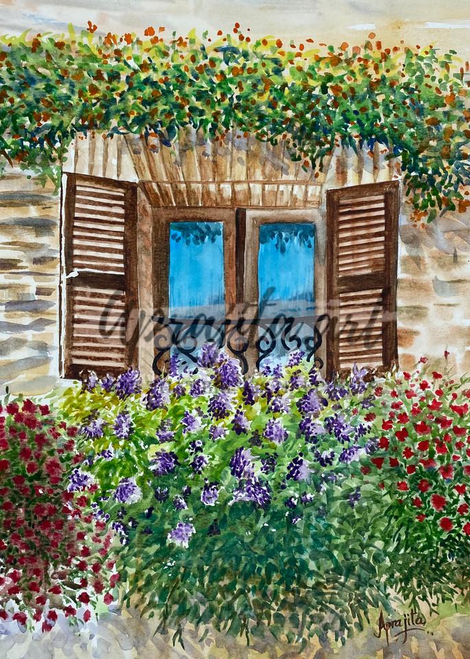 """An Open Window"" Art Print by Aprajita Lal"