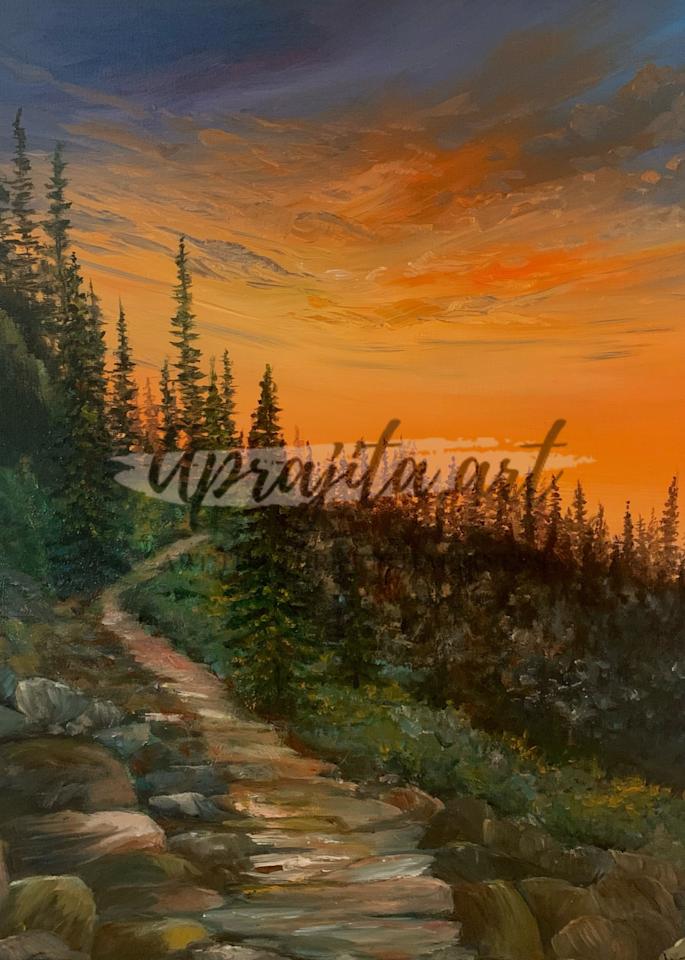 """""""A Path Less Traveled"""" Art Print by Aprajita Lal"""