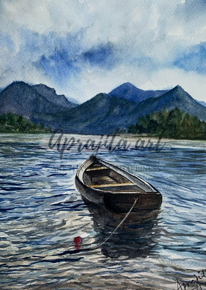 """""""Waiting 2"""" Art Print by Aprajita Lal"""