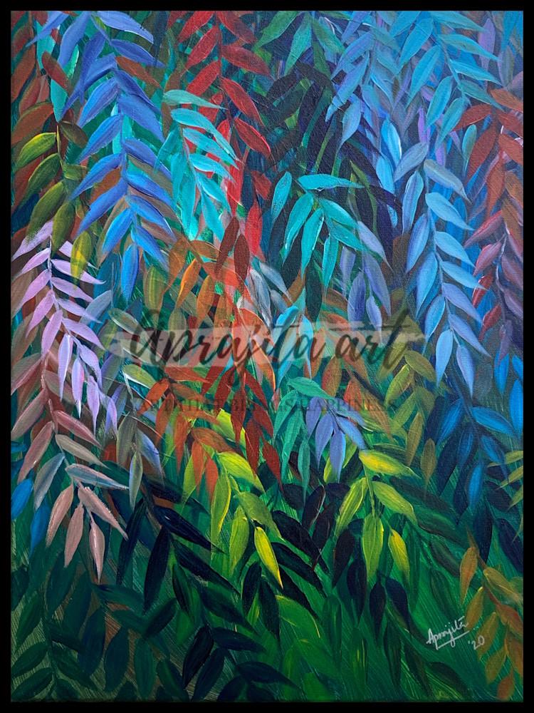 """""""Harmony"""" in Acrylics by Aprajita Lal"""