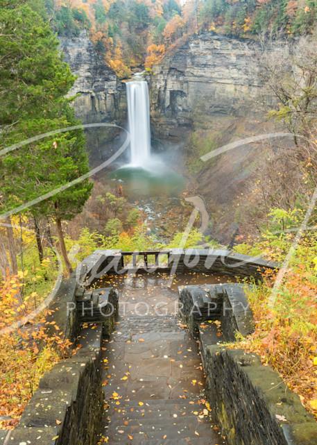 Taughannock Falls Art   Brandon Hirt Photo