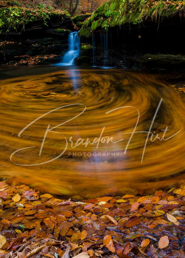 Blue Knob Waterfall Art   Brandon Hirt Photo