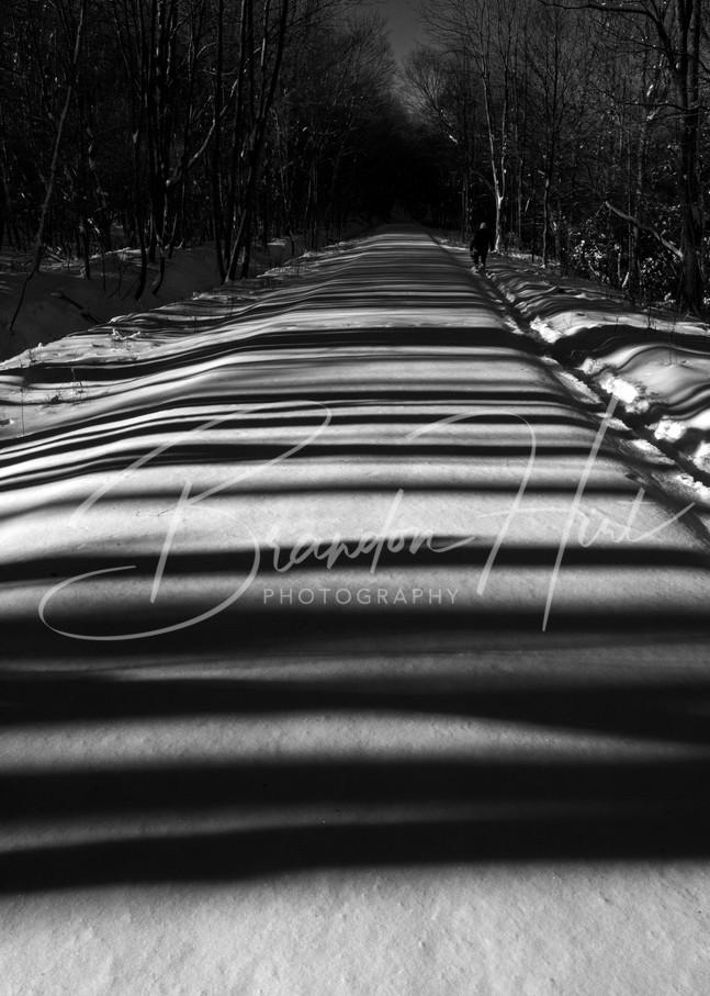 Ghost Town Trail Shadows Art   Brandon Hirt Photo
