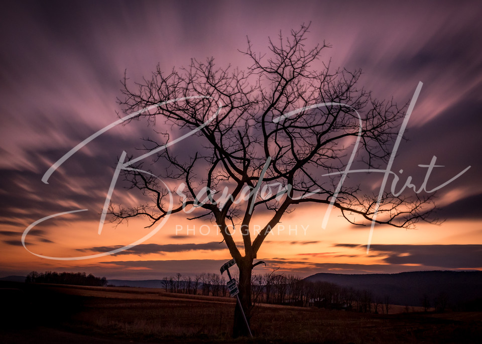 Sinking Valley Sunrise Art | Brandon Hirt Photo