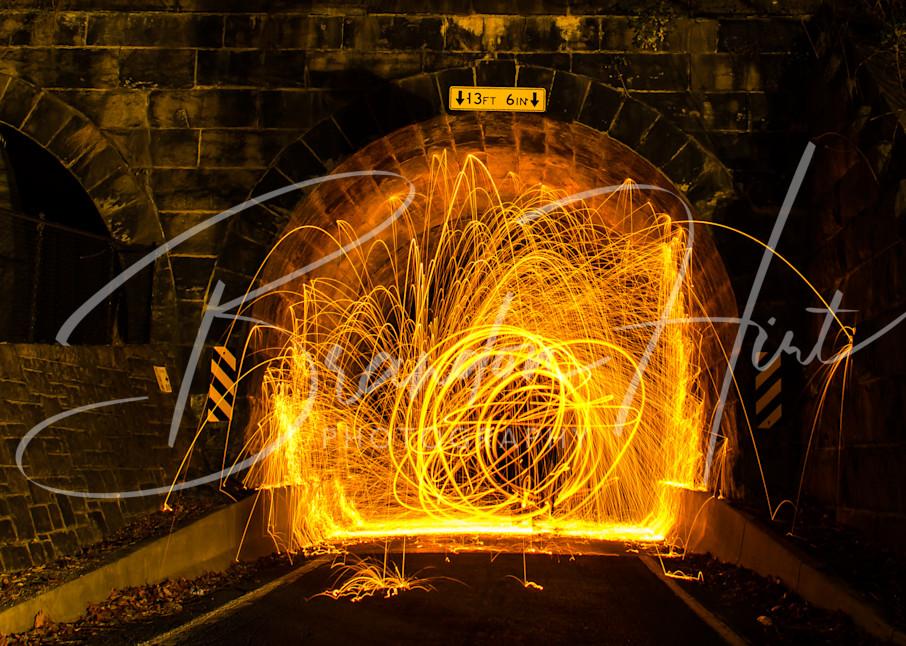 Tunnel Steel Art | Brandon Hirt Photo