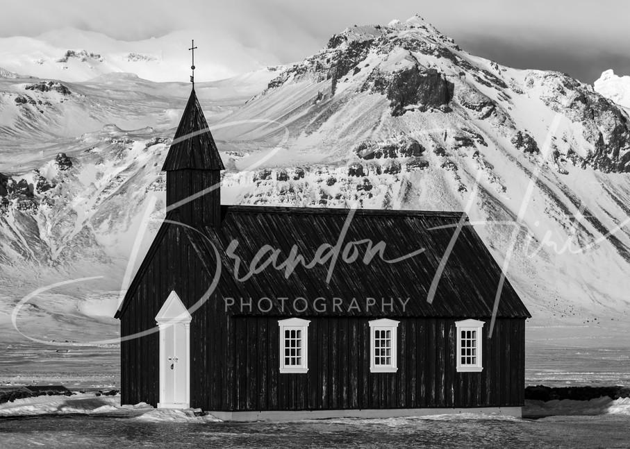 Black Church Of Iceland Art | Brandon Hirt Photo