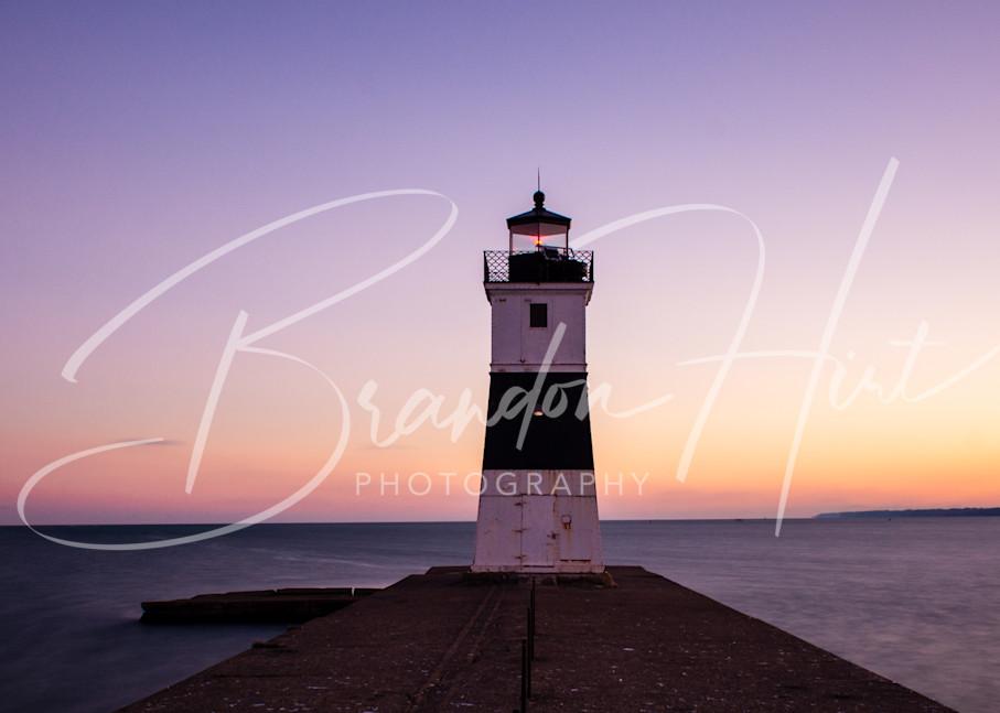 Lake Erie Lighthouse Art | Brandon Hirt Photo