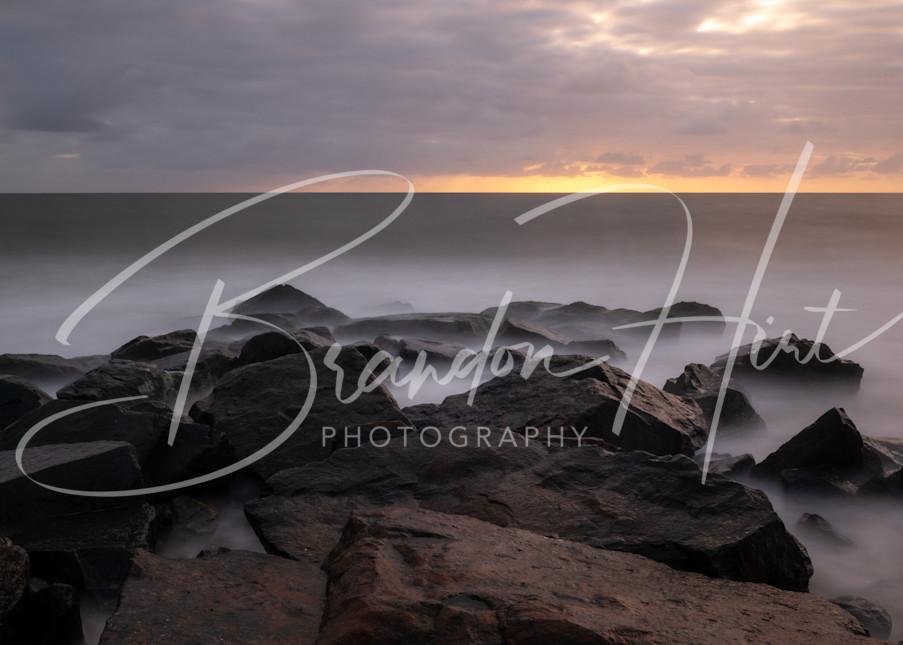 Cape Henlopen Sunrise Art   Brandon Hirt Photo