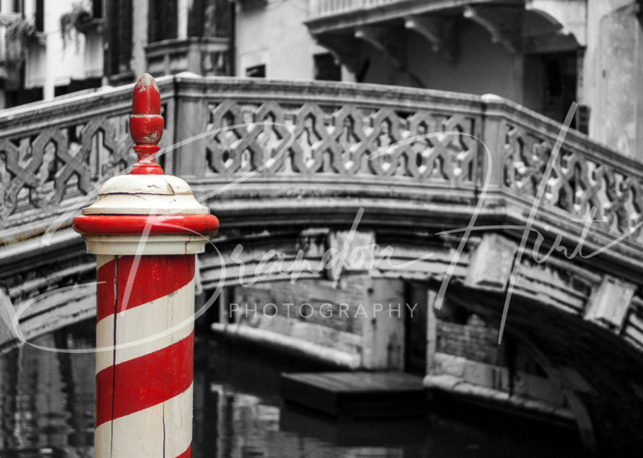 Italy famous bridge town of Venice