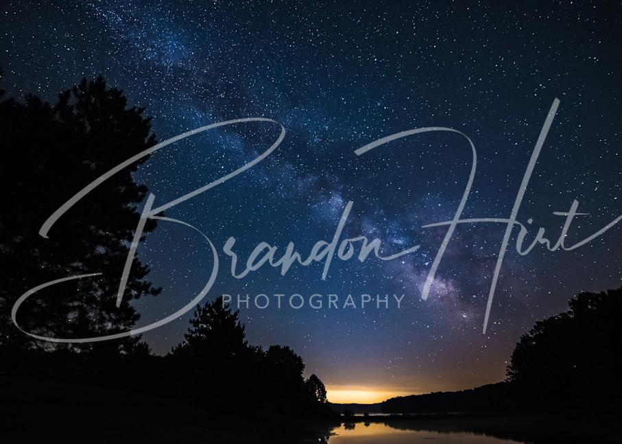 Stars over Lake Glendale