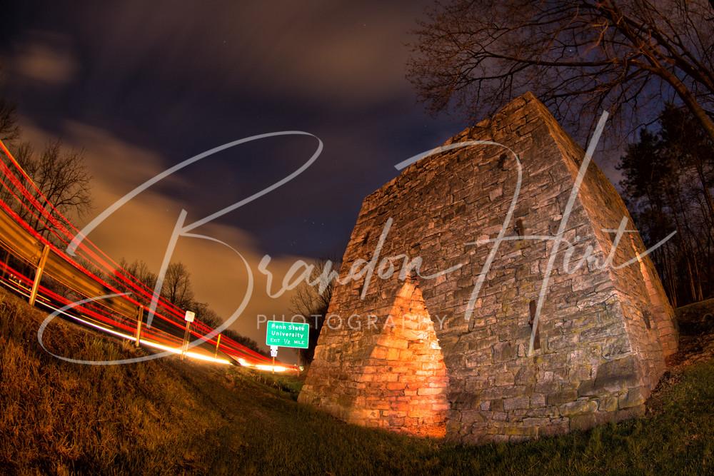 State College Night Art | Brandon Hirt Photo