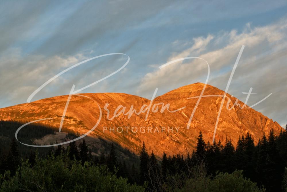 Quandary Mountain Sunrise Art | Brandon Hirt Photo
