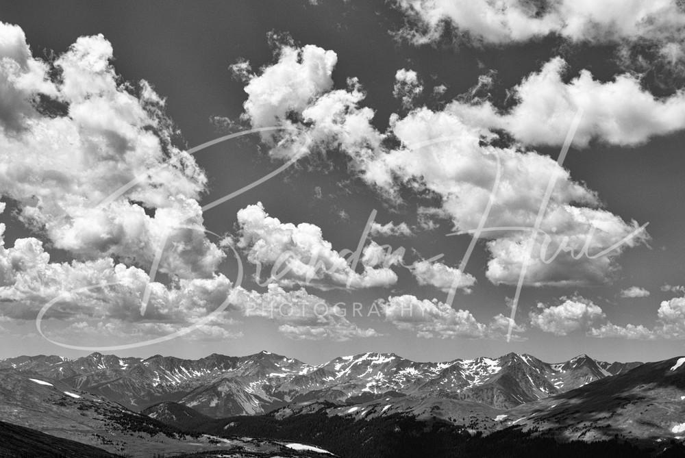 Trail Ridge Road Clouds Art | Brandon Hirt Photo